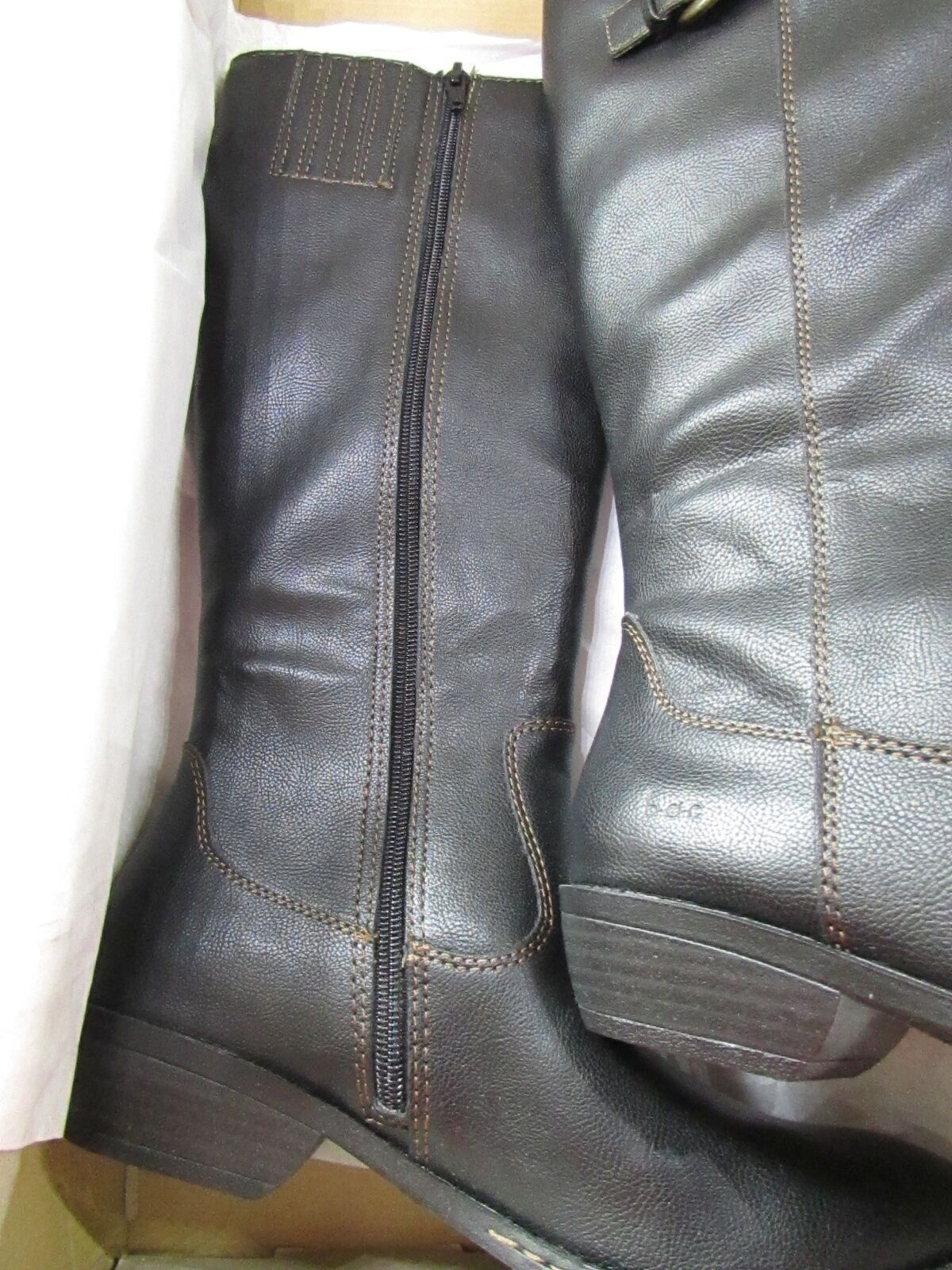 Recién Nacido Sharlene Negro De c15009 Alto botas Para Mujer 6 Knee High c15009 De 66fc59