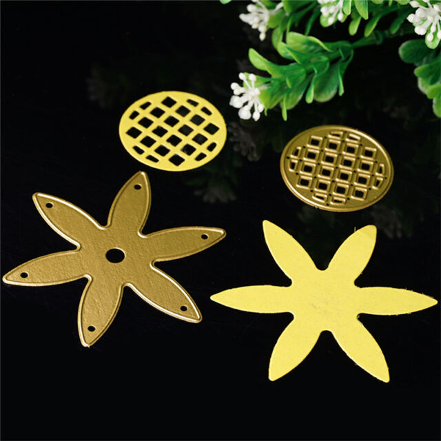 Sunflower Cutting Die Stencil DIY Scrapbooking Diary Embossing Template;