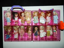Mattel Kelly Club Case Holds 16 dolls Loaded with Dolls Full Lot