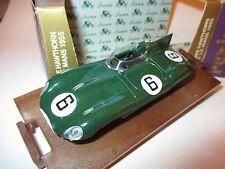 Rennwagen racing car Jaguar D-Type Win Le Mans 1955 Hawthorn #6, BRUMM 1:43 box!