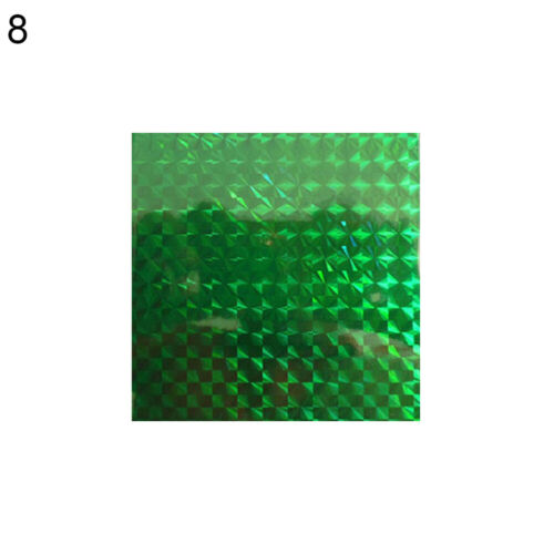 2x Holographic Adhesive Film Flash Fishing Lure Sticker Tape Fish Tools Wide