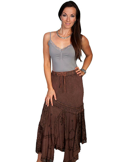 Scully Women's Copper Maxi Skirt HC64  SALE