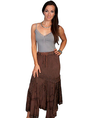 SALE!! Scully Women/'s Copper Maxi Skirt HC64  Western Skirt  Great with Boots