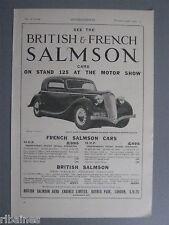 R&L Ex-Mag Advert: Salmon Car / Parson Snow Chains for Tyres