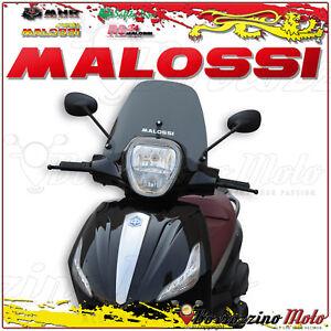Efficace Malossi 4516055 Pare-brise Sport Fumé Sombre Piaggio Beverly Touring 350 C.-à-