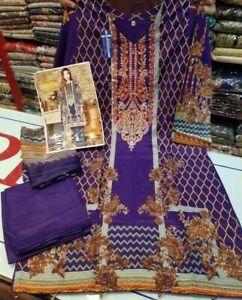 S//M//L Indian//Pakistani Designer Lawn Readymade,anarkali,Salwar Kameez Suit