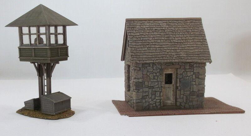 Ho HOn3 Personalizado Pequeño Piedra Depot & cruzar Tower