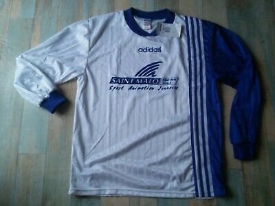 MAILLOT SPORT ADIDAS SAINT MALO STATION VOILE TAILLE LD6 TBE | eBay