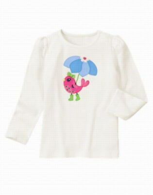 GYMBOREE SHOWERS OF FLOWERS PINK w// FLOWERS KNIT SKORT 4 6 8 9 12 NWT