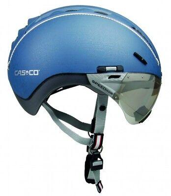 Casco Fahrradhelm  Helm Roadster mit Visier Gr M 55-57