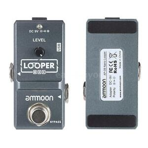 ammoon loop electric guitar effect pedal looper unlimited overdubs l4y6 709756061852 ebay. Black Bedroom Furniture Sets. Home Design Ideas