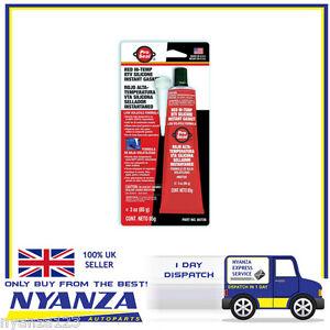 Pro-Seal-Red-RTV-Hi-Temp-Silicone-Sealant-Instant-Gasket-85G-Cars-Van-Bikes