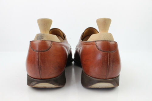 Shoes 7 condizioni 5 Leather Uk Buone Loops All Derby Brown qxwnHCqd