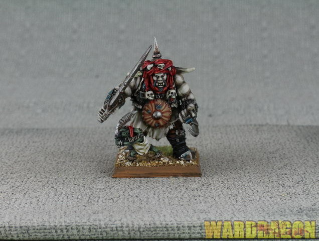 25mm Warhammer WDS painted Ogre Kingdoms Maneater Araby Maneater gg45