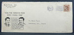 US-Electrad-Inf-Illustrated-Advertising-Cover-New-York-1932-Ef-Letter-Lot-6340