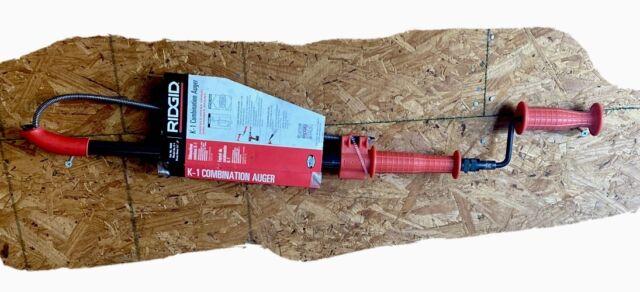 RIDGID R46683 Combination Urinal Auger Ridge Tool K-1 for sale online