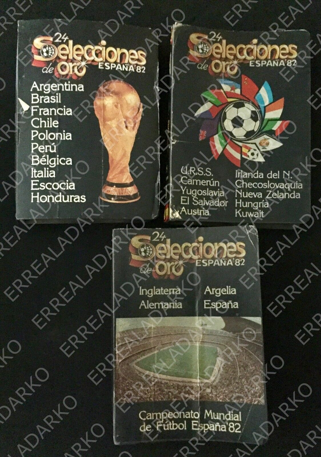 COLECCION 24 REVISTAS SELECCIONES DE oro MUNDIAL ESPAÑA 82 FUTBOL 1982