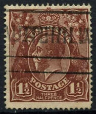 Australia 1918-20 SG#52, 1.5d Brown KGV Used #D48595