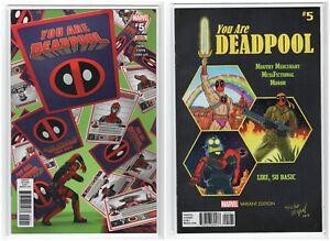 You-Are-Deadpool-Issue-5-Marvel-Comics-Regular-amp-Variant-5-30-18-1st-Print