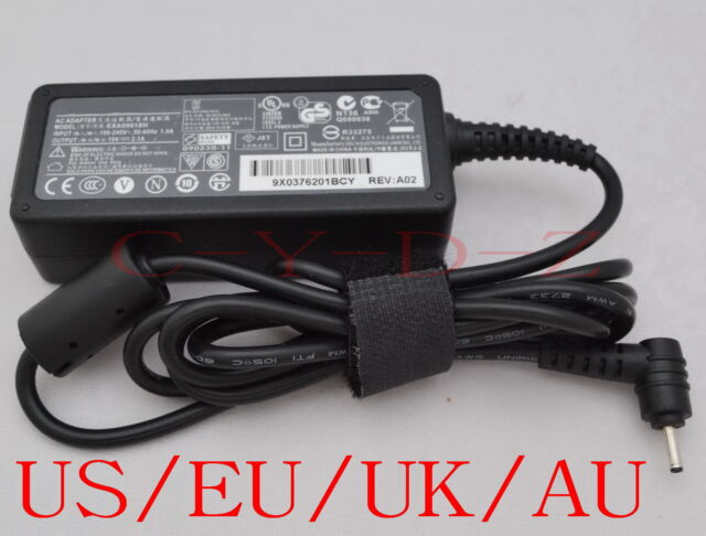 AC Converter Adapter DC 19V 2.1A 40W Power Supply Charger DC 2.5mm US/EU/UK/AU