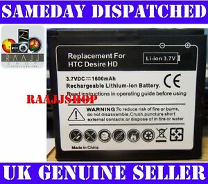 NEW-HIGH-CAPACITY-BATTERY-FOR-HTC-DESIRE-HD-1600maH-UK-SELLER