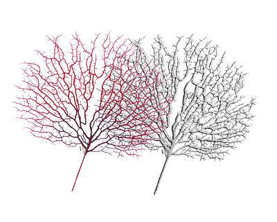 Cosciente Ramo Corallo Artificiale H. 50 Cm Decorazioni Addobbi