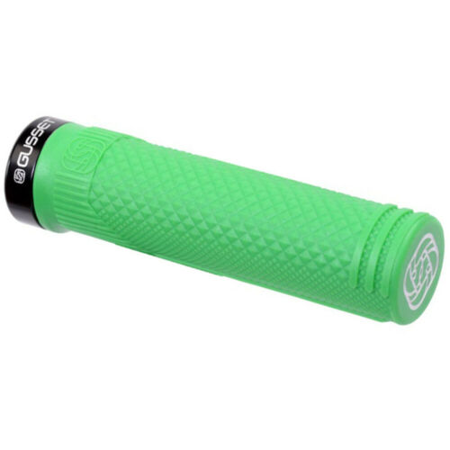 Gusset S2 Clamp-On Grips Green Pair
