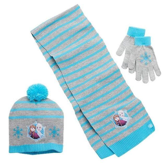 Frozen Girls Set Beanies Gloves