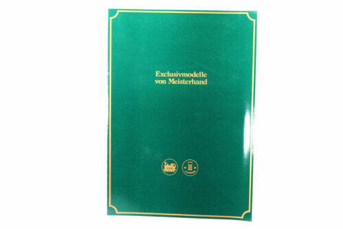 LGB Buch Prospekt Katalog Broschüre Exklusiv gefertigten Lokomotiven