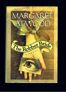 MARGARET-ATWOOD-THE-ROBBER-BRIDE-HANDMAIDS-TALE-1st-Ed-NEAR-FINE-COND