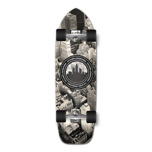 Yocaher Old School Longboard Complete - New York