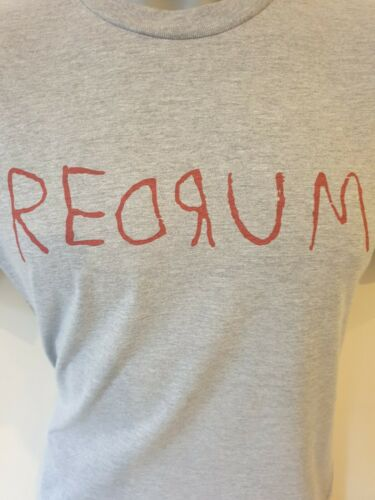 REDRUM THE SHINING INSPIRED T SHIRT HORROR MOVIE HALLOWEEN ADULTS KIDS