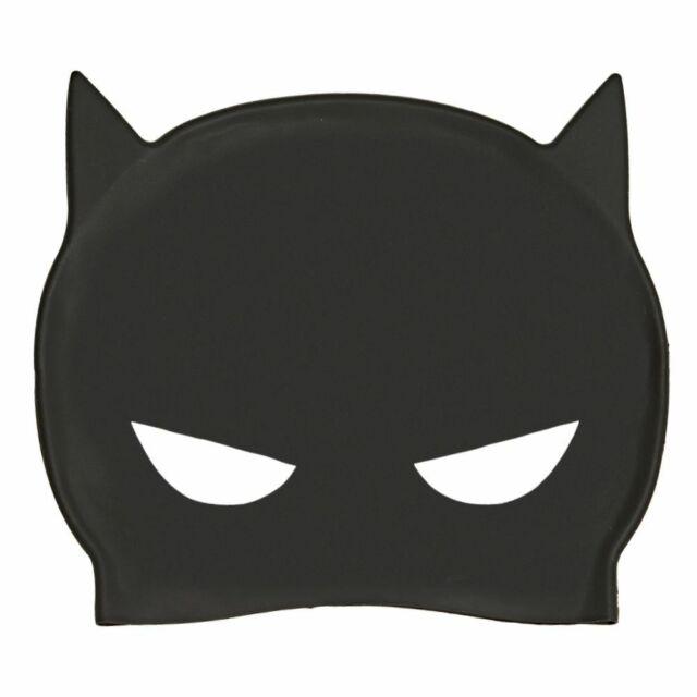 Zoggs Kids DC Super Heroes Batman 3d Silicone Cap Blackyellow 14 Years for sale online