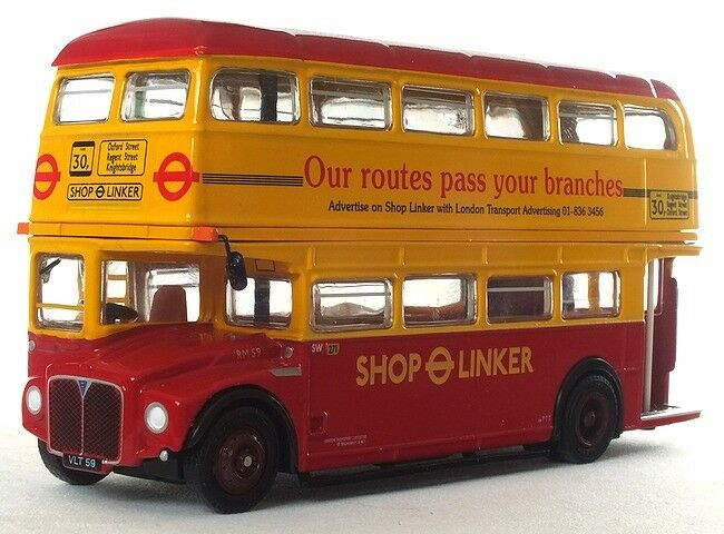 EFE (AEC ROUTEMASTER BUS) LONDON TRANSPORT SHOP LINKER 1 76 Scale 31514