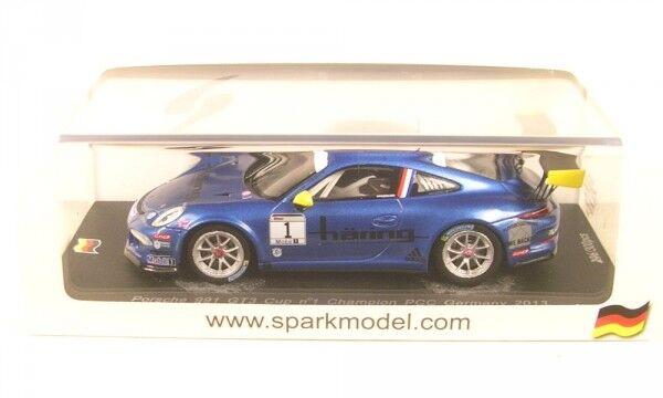 Porsche 991  GT3 Cup No.1 Champion Pcc Allemagne 2013 ( K. Estre )  jusqu'à 60% de réduction