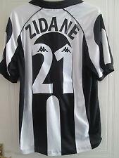 Zidane 21 1997-1998 Juventus Home Football Shirt Tamaño Extra Grande Xl / 39485