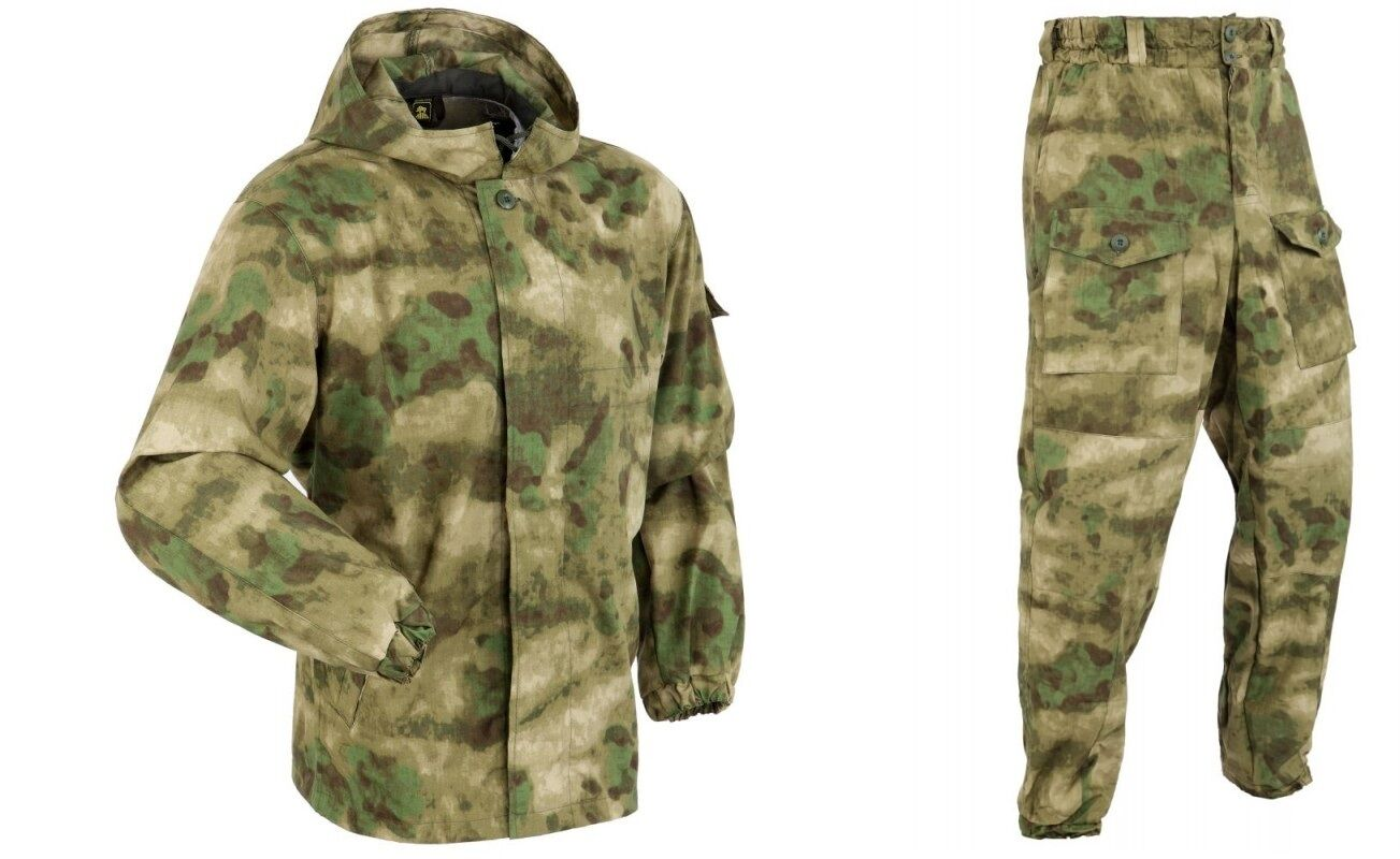 RUSSIAN ARMY ORIGINAL DISGUISE SUMMER SUIT  MOLE  A-TACS FGI  ALL SIZES  by ANA