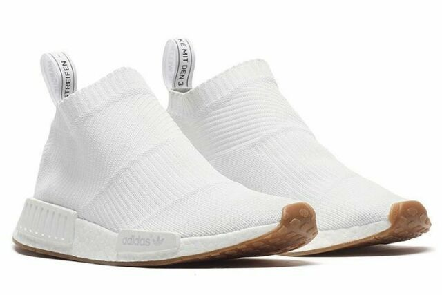 competitive price ca353 ad704 Adidas NMD CS1 PK White gum BA7208 City Sock Mens size 9