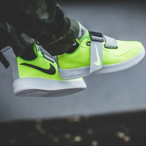 new arrival 12bd3 ce75d Image is loading Nike-Air-Force-1-Low-Utility-Volt-Men-