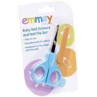 Emmay Care Health Baby Kids Children Safety Scissors & Nail Set Trendy #08061
