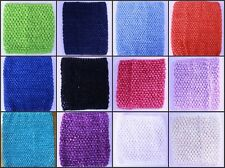 12pcs Wholesale 12X10 inches Crochet Tube Tops Tutu tops 12 Color U-Pick Gifts