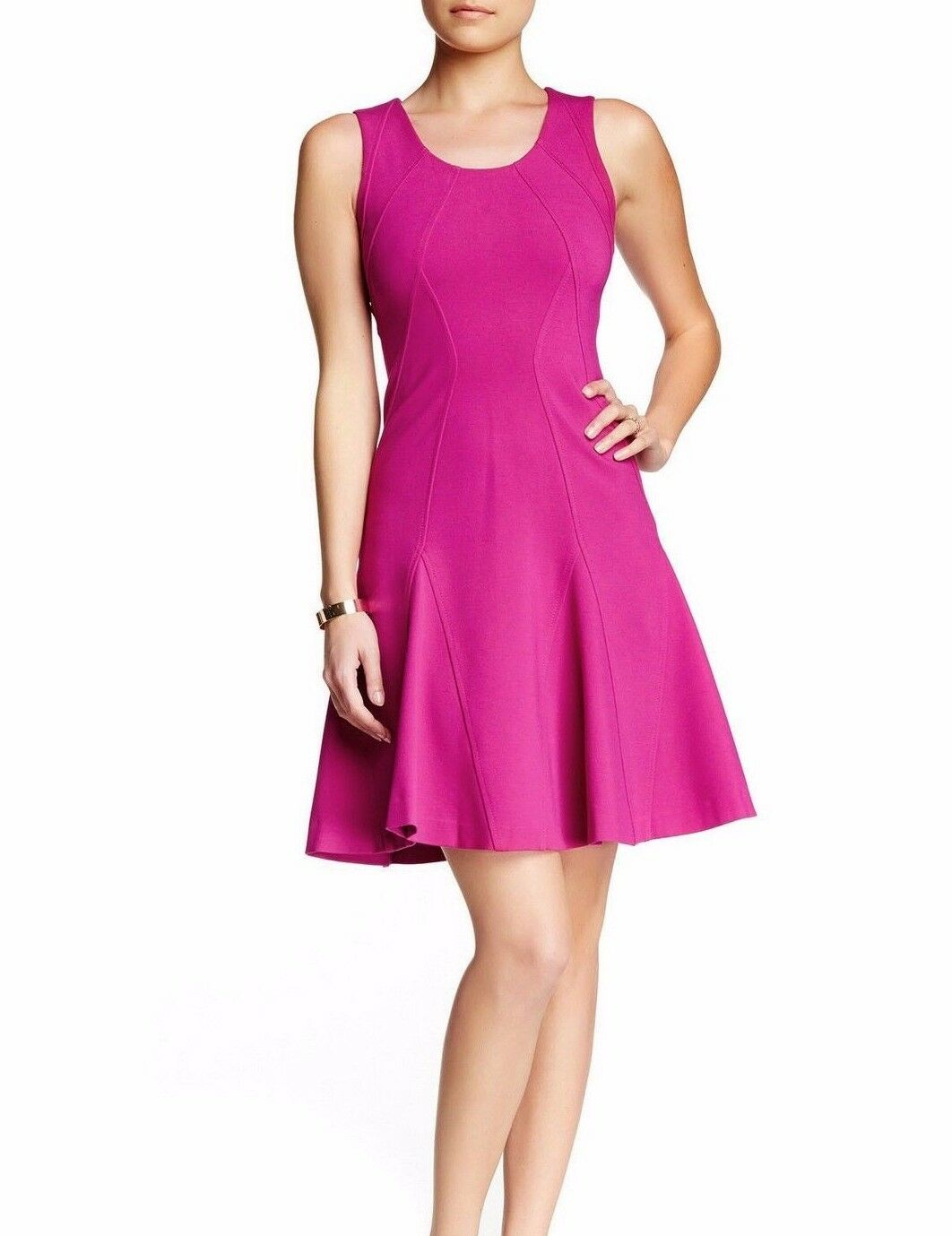 398-- NWT Diane Von Furstenberg DVF Alice Dress, Rosy bluesh, size 12