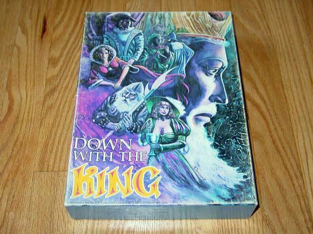 Ah Avalon Hill 1981-Down With The King Fantasy Bibliothèque jeu (non perforé)  2