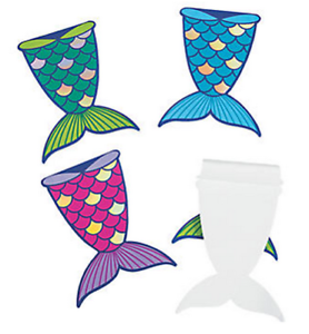 Pack-of-6-Mermaid-Tail-Notepads-Sea-Life-Party-Bag-Fillers-Teacher-School