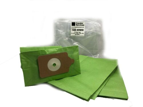 Candor Premium Paper Dust Bags x 10 to fit Numatic Back Pack RSV200 RSV 200