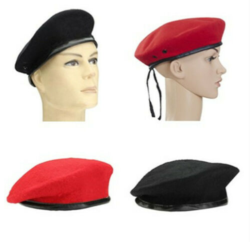 New Military Army Soldier Hat Beret Men Women Uniform Adjustable Cap