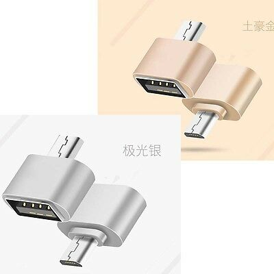Micro USB OTG Cable Female to Male Adapter for Samsung HTC cell phone Tablet