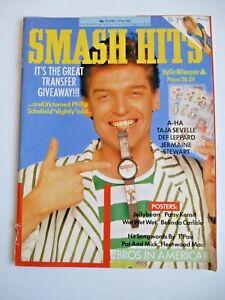 SMASH-HITS-UK-MUSIC-MAGAZINE-20-4-88-KYLIE-A-HA-BROS-BELINDA-CARLISLE