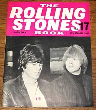 THE ROLLING STONES BOOK MONTHLY NUMBER 17 10TH OCTOBER 1965 VINTAGE MAGAZINE