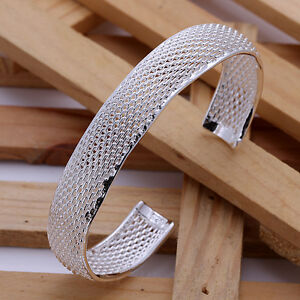 new-charms-nice-noble-silver-Plated-fashion-cute-bracelet-bangle-jewelry-B102